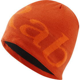 Rab Logo Beanie Men firecracker